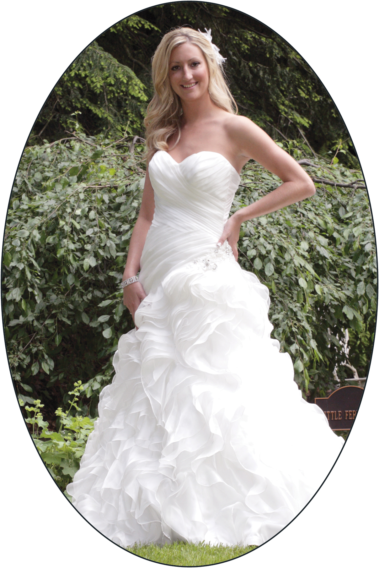 personalization package wedding gown preservation